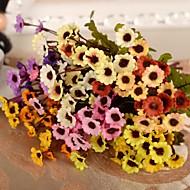 ブランチ シルク プラスチック 菊の花 テーブルトップフラワー 人工花