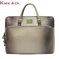 Női - Laptop táska PVC - Piros / Ezüst