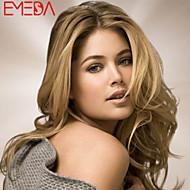 Women Lace Front Wig Brazilian Virgin Hair Color(Blonde) Body Wave Hair