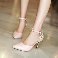 Homme Chaussures de mariage Bout Pointu Sandales Mariage/Bureau & Travail Bleu/Rose/Blanc
