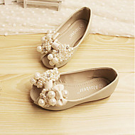 Girls' Shoes Dress Peep Toe Comfort Leather Flats Shoes More Colors available