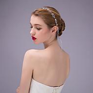 Chaîne pour Cheveux Casque Mariage/Occasion spéciale Strass/Inox Femme Mariage/Occasion spéciale