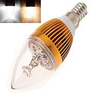 12W E14 Luzes de LED em Vela LED de Alta Potência 350 lm Branco Quente / Branco Frio AC 85-265 V 1 pç