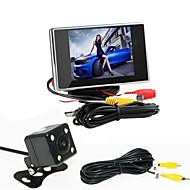 RenEPai® 3.5 Inch Monitor + 170°HD Car Rear View Camera +  High-Definition Wide Angle Waterproof CMOS Camera