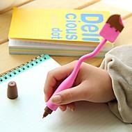 Kynä Kynä Kuulakärkikynät Kynä,Silikoni tynnyri Musta Ink Colors For Koulutarvikkeet Toimistotarvikkeet Pakkaus