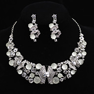 Women's Cubic Zirconia/Alloy/ Wedding/Party Jewelry Set
