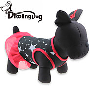 DroolingDog®  Lovely Stars Pattern 100% Cotton Dress for Dogs (Assorted Sizes)