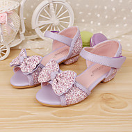 Girls' Shoes Dress Comfort Peep Toe Leather Sandals Pumps/Heels More Colors available
