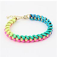 Lucky Star Women's Fashion Multi-Color Knitting Bracelet