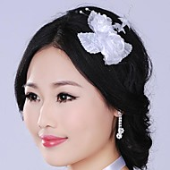 Luxurious Retro  Simulation Flower  Pearl  Bridal Headpiece
