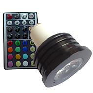 Spot Gradable/Commandée à Distance/Décorative RGB/Couleurs Changeantes SchöneColors® 1 pièce B GU10 4 W 1 LED Haute Puissance LM AC 85-265