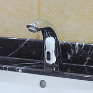 Bathroom Sink Faucet Brass finish with Automatic Sensor