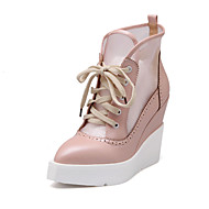 Women's Shoes Wedge Heel Pointed Toe Fashion Sneakers with Lace-up Casual More Colors available
