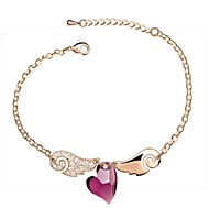 Ladies'/Women's Alloy Chain With Crystal/Rhinestone Bracelet(More Color)