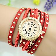 שעון צמיד - לנשים - עור - קווארץ