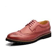 Men's Shoes Casual Oxfords Black/Brown/Yellow/Red/White