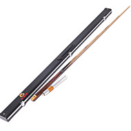 1 piece  Handmade spliced ash wood  snooker Cue +extension  O'min brand  billiard cue+Cue Case