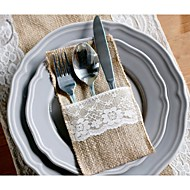 Serving Sets Wedding Cake Knife Cutlery pouch/Flatware pouch/  Supplies Bags  Set of 20---- European Pattern
