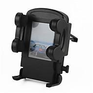 saída de ar do carro mini-base do suporte universal para celular / gps - preto