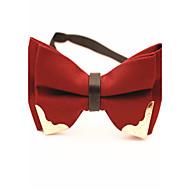 Gravatas Borboletas (Preta/Azul/Vermelho/Vinho , Algodão) Cor Única