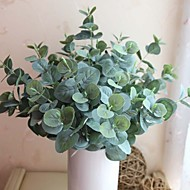 "17.7"" Five Branches Fifteen Heads Artificial Plant Eucalyptus Leaf Set of 1"