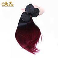 A Ombre Cheveux Indiens Droit tissages de cheveux