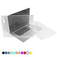 """policarbonato protetora caso de cristal de corpo inteiro translúcida para MacBook Pro de 13,3 """"com tela de retina"""