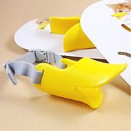 Dog Muzzle Yellow Silicone