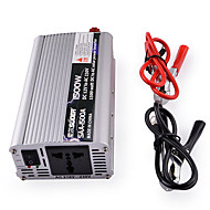 SUOER SAA-1500A 1500W DC 12V to AC 230V Power Inverter (Silver)