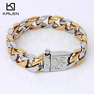 Kalen Men's Jewelry High Quality China Factory Bracelet Egyptian Gold Bracelets