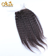"10""-20"" Black Full Lace Straight Human Hair Closure Medium Brown Chinese Lace 60g/piece gram Cap Size"