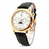 Men's Avtive Fashion Mechanical PU Leather The Watches (Assorted Colors)