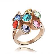Višestruki prsten Vintage/Slatko/Zabava (Legure/Kubični cirkon/Pozlaćeni nakit