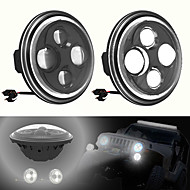 LED Angel Eyes Car Light for SUV Waterproof 6000K H4 Auto Light