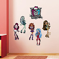 Wall Stickers Wall Decals, Style Monster High PVC Wall Stickers