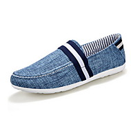Men's Shoes Casual Canvas Fashion Sneakers Blue/Gray/Beige