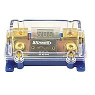 F208 bil spænding display 1 i 1 ud 80a digital ANL sikringsholder til bil auto audio-forstærker