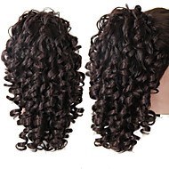 Claw Clip Synthetic 18 Inch Long Curly Ponytail