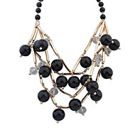 Women's European Style Fashio Alloy Necklace With Imitation Pearl
