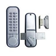 Double Door Glass Door Mechanial Keyless Pushbutton Door Lock
