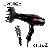 Pritech Brand 3 in 1 Hair Dryer With Diffuser Comb For Home Salon Use