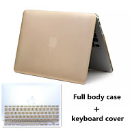 Top Selling Metal Style PVC Hard Full Body Case and TPU Keyboard Cover for Macbook Air 13.3 inch