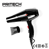 New Pritech Brand Professional Black Hair Dryer Big Power Blow Dryer For Salon Family Use Hair Care Styling Tools
