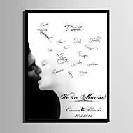 Ramki na podpisy ( Biały ) - Motyw Garden