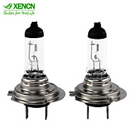 2PCS XENCN H7 PX26d 12V 55W 3200K Clear White Halogen Headlights High Low Beam Car Lights Bulbs Autolamps