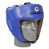 winmax® outdoor blauw / rood boksen hoofdbeschermer