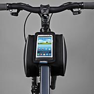 ROSWHEEL® Fietstas 1.8LFietsframetas / Mobiele telefoon tasje Multifunctionele / Aanraakscherm Fietstas PVC / 600D Polyester Fietstas