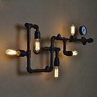 Mini Style Wall Sconces , Rustic/Lodge E26/E27 Metal