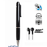 N16 8GB fashionable pen diktafon mini pen digital diktafon med mp3-afspiller