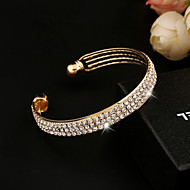Fashion High-End Women's Alloy Cuff With Bracelet